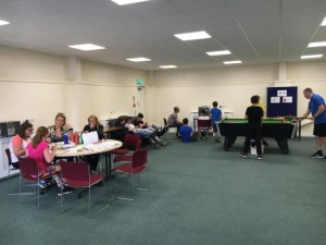 Warsop Youth Club session on 15 August