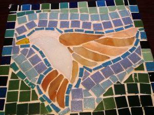 Dorothy mosaic bird