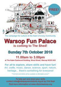 Fun Palace Poster 2018